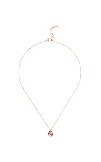 Karen Millen, Crystal dot necklace Rose Gold 0