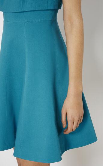 Karen Millen, CROP-DETAIL DRESS Turquoise 4