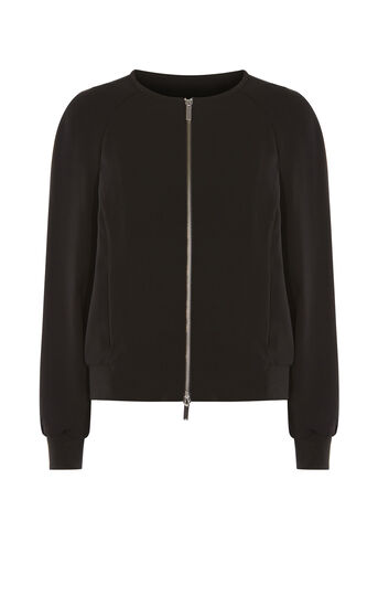 Karen Millen, TAILORED BOMBER Black 0