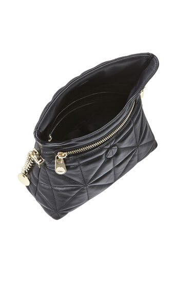 Karen Millen, QUILTED BAG Black 3