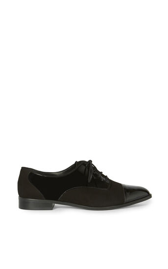 Karen Millen, OXFORD LACE-UPS Black 0