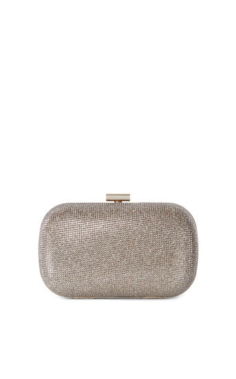 Karen Millen, SPARKLE CLUTCH Gold 0