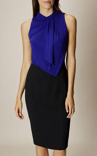 Karen Millen, DEBONAIRE DRESS Black/Multi 2