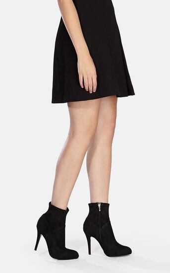 Karen Millen, Suede ankle boot Black 1
