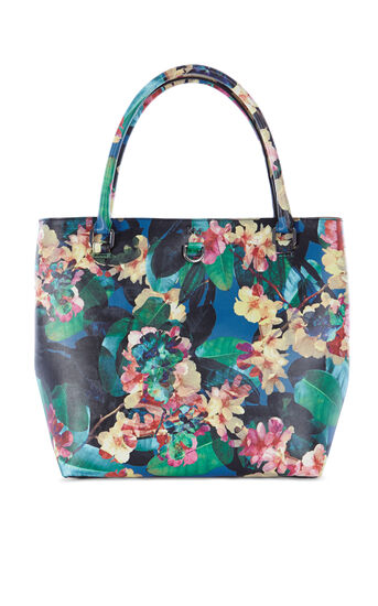 Karen Millen, FLORAL BUCKET BAG Multicolour 0