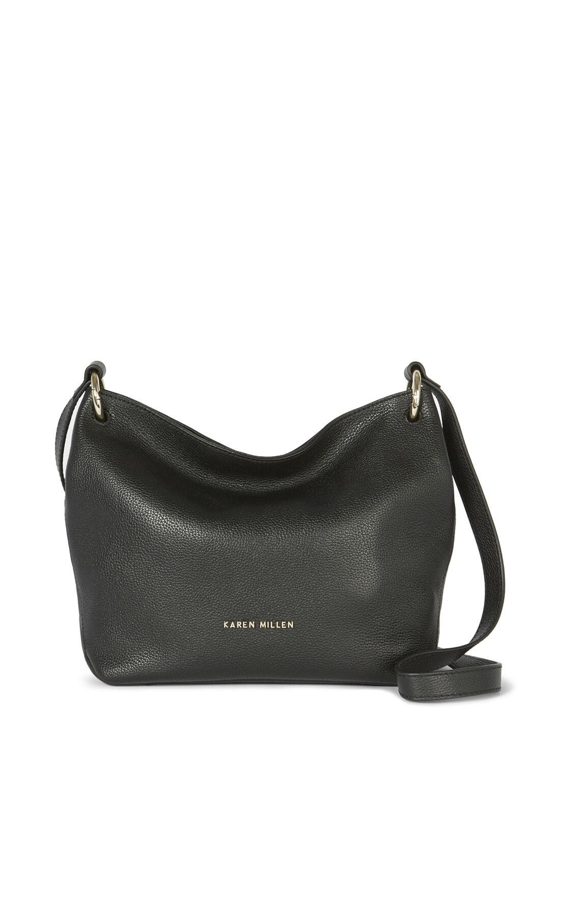 Karen Millen, SOFT SLOUCH BAG Black 0