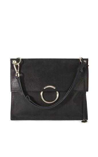 Karen Millen, O RING SHOULDER BAG Black 0