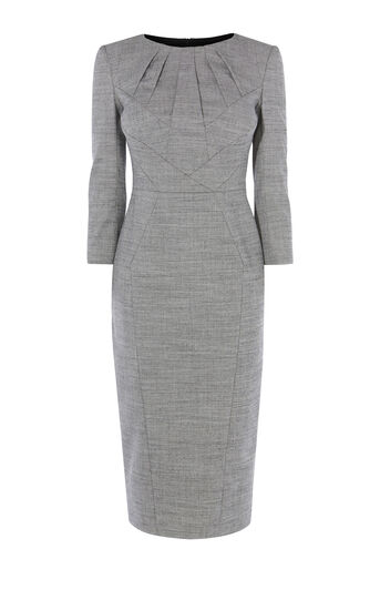 Karen Millen, TAILORED DRESS Grey 0