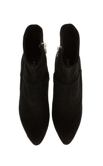 Karen Millen, Suede ankle boot Black 4