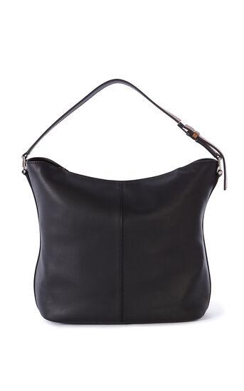 Karen Millen, BROWN LEATHER SLING BAG Multi 2