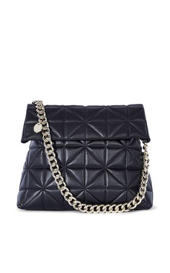 Karen Millen, QUILTED BAG Black 0