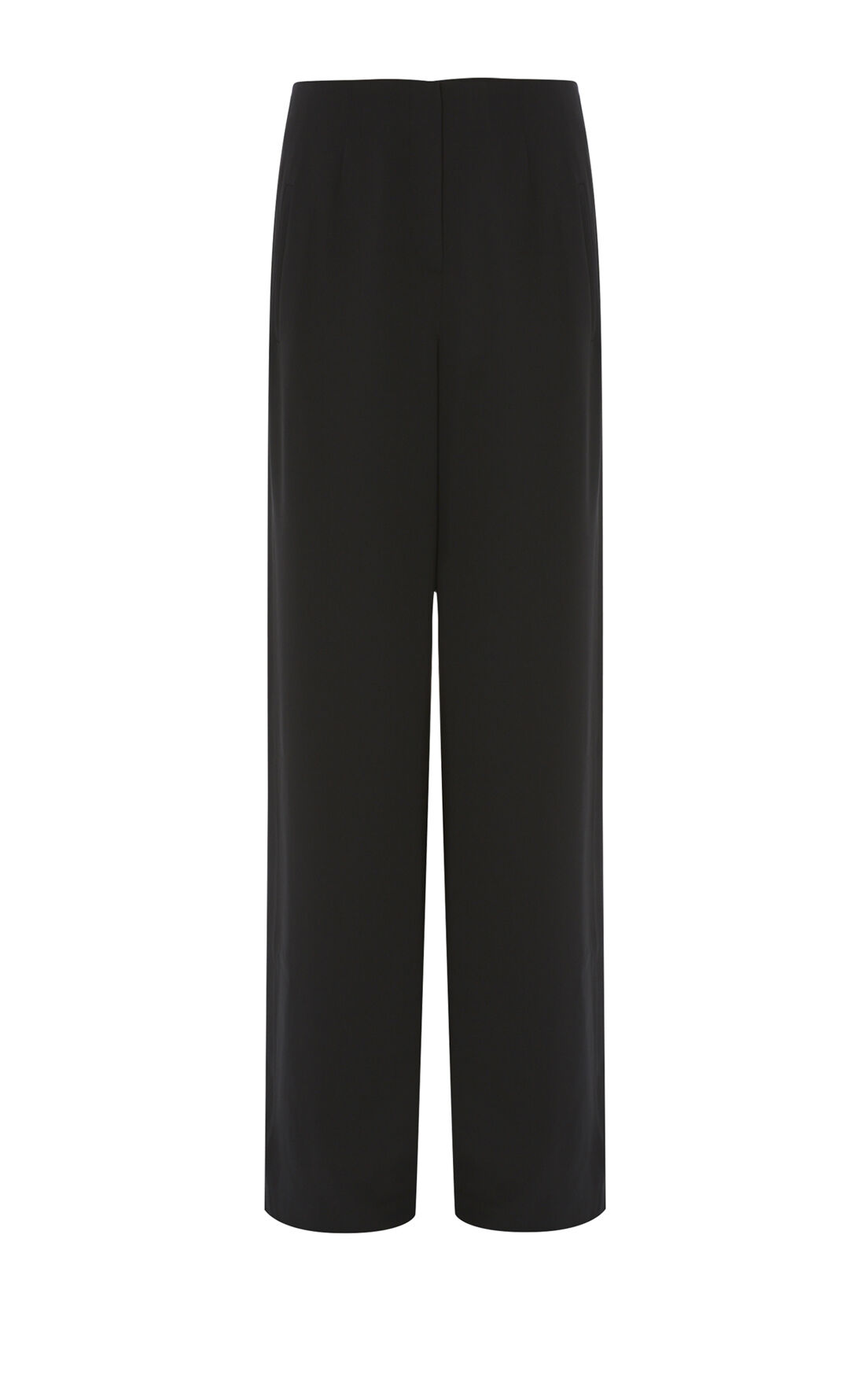 Karen Millen, WIDE-LEG TROUSERS Black 0