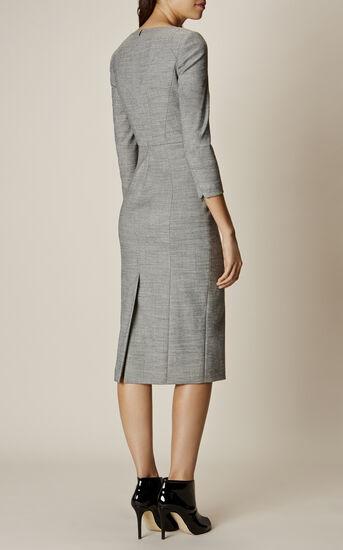 Karen Millen, TAILORED DRESS Grey 3