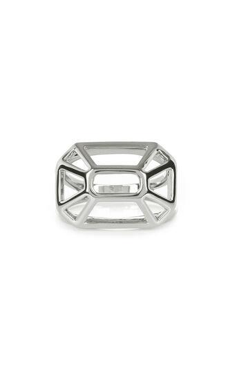 Karen Millen, Frame Ring Silver 0