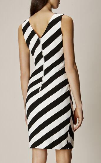 Karen Millen, BARCODE DRESS Black & White 3