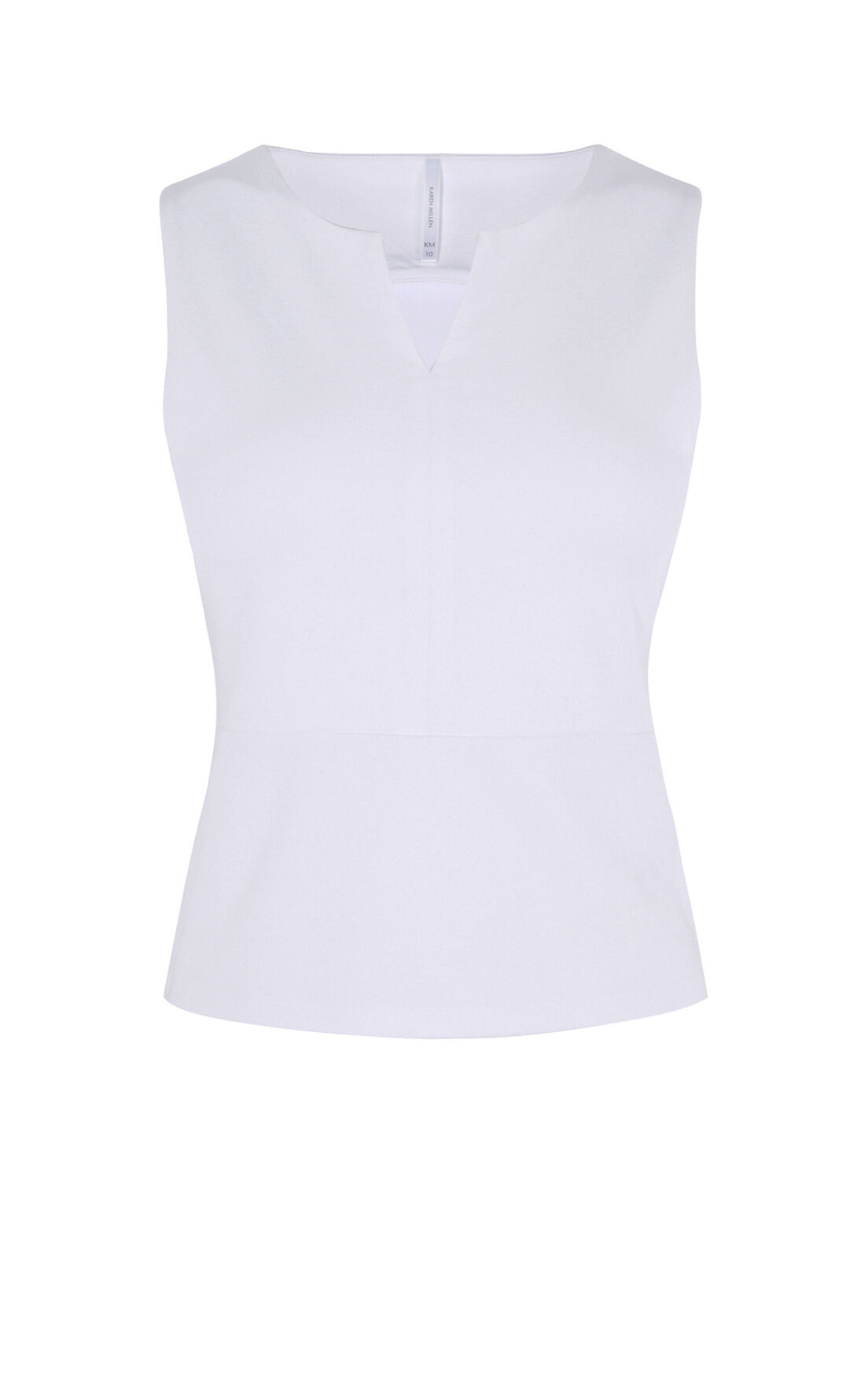 Karen Millen, CUT OUT TOP White 0