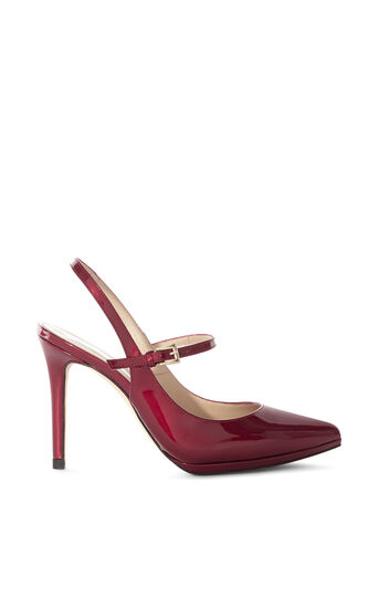 Karen Millen, PATENT MARY JANES Red 0