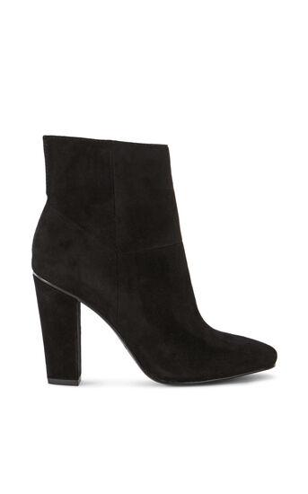 Karen Millen, SUEDE ANKLE BOOTS Black 0
