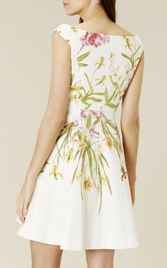 Karen Millen, LILY-PRINT COTTON DRESS Multicolour 3