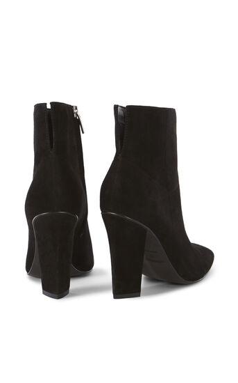 Karen Millen, SUEDE ANKLE BOOTS Black 3