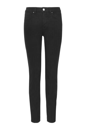 Karen Millen, Schwarze Skinny-Jeans Schwarz 0