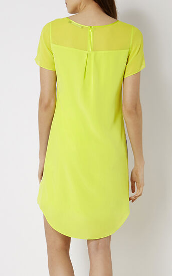 Karen Millen, PRINTED SILK T-SHIRT DRESS Multicolour 3
