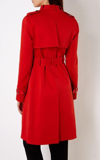 Karen Millen, RED TRENCH COAT Red 3