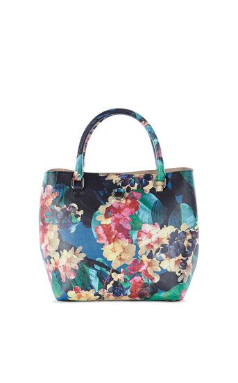 Karen Millen, FLORAL MINI BUCKET BAG Multicolour 0