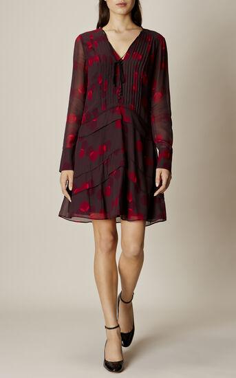 Karen Millen, GEO-PRINT SHIRT DRESS Multicolour 1