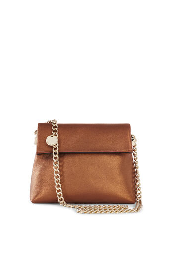 Karen Millen, MINI SHOULDER BAG Bronze 0