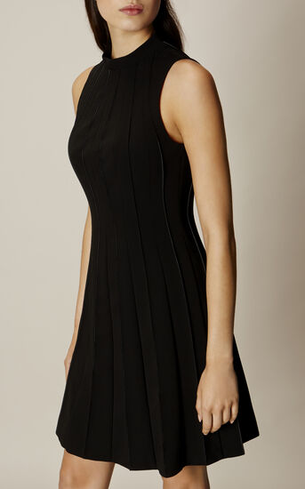 Karen Millen, SEAM-DETAIL DRESS Black 2