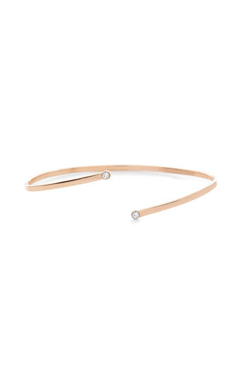 Karen Millen, Tiny dot cuff Rose Gold Colour 0