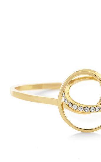 Karen Millen, Crystal Ribbon Cuff Gold Colour 3