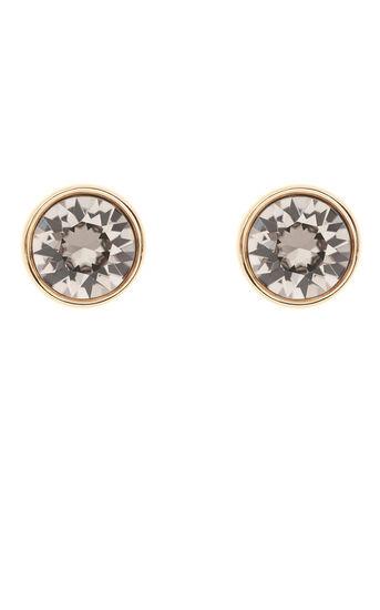 Karen Millen, Round Stud Earrings Gold Colour 0