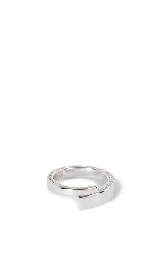 Karen Millen, CROSSOVER RING WITH CRYSTAL TR KM 0