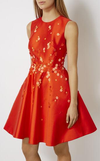 Karen Millen, BEADED PROM DRESS Orange 2