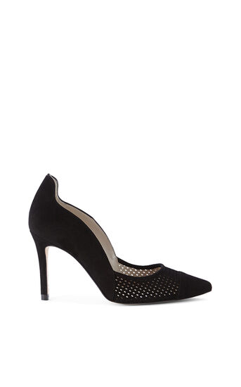 Karen Millen, Pumps Mit Perforation Schwarz 0