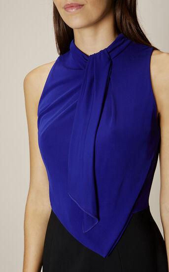 Karen Millen, DEBONAIRE DRESS Black/Multi 4