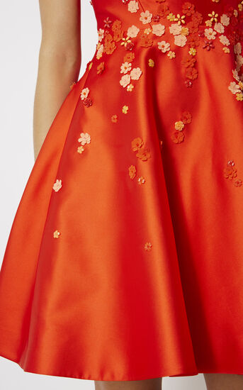 Karen Millen, BEADED PROM DRESS Orange 4