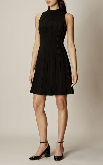 Karen Millen, SEAM-DETAIL DRESS Black 1