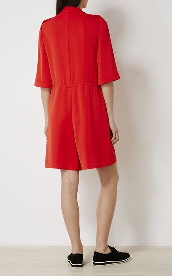 Karen Millen, RED PLAYSUIT Red 3