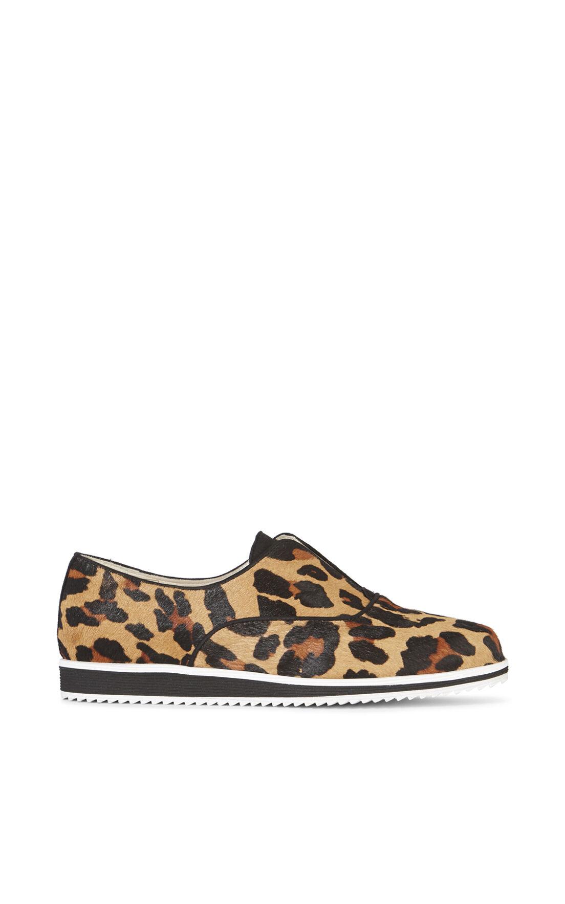 Karen Millen, LEOPARD SLIP ON TRAINER Leopard Print 0