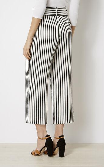 Karen Millen, STRIPED TROUSER Black & White 3