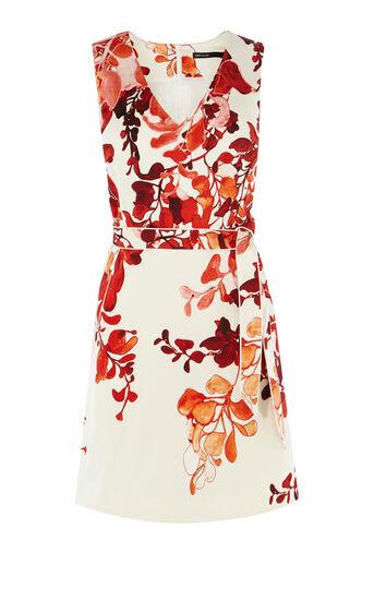 Karen Millen, FLORAL DRESS Pink/Multi 0