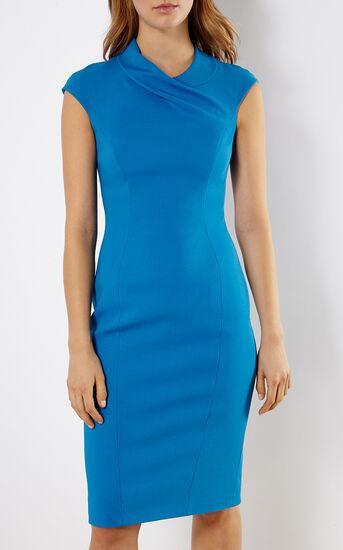 Karen Millen, BLUE PENCIL DRESS Blue 2