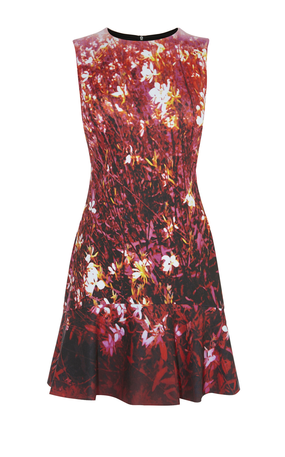 Karen Millen, FLORAL SCUBA DRESS Pink/Multi 0