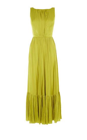 Karen Millen, FLUID MAXI DRESS Yellow 0