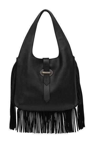Karen Millen, FRINGE SLING BAG Black 0