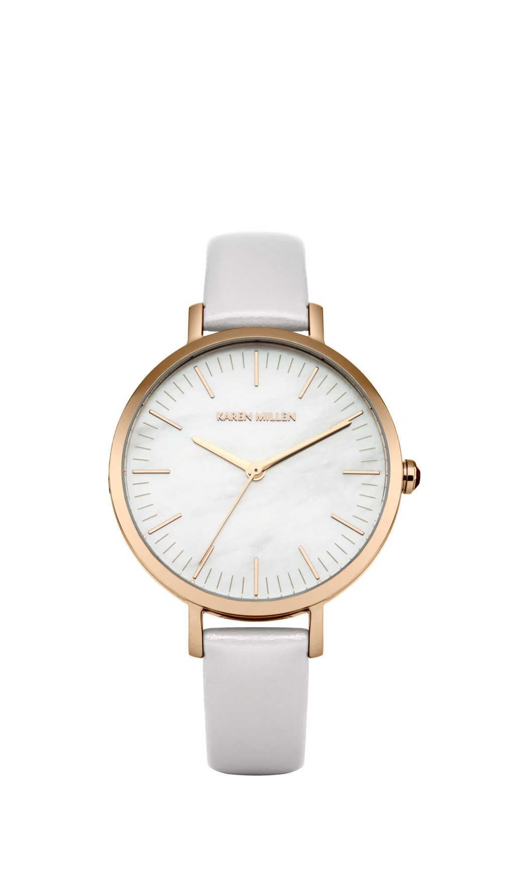 Karen Millen, MOTHER OF PEARL AND LEATHER WA Nude 0