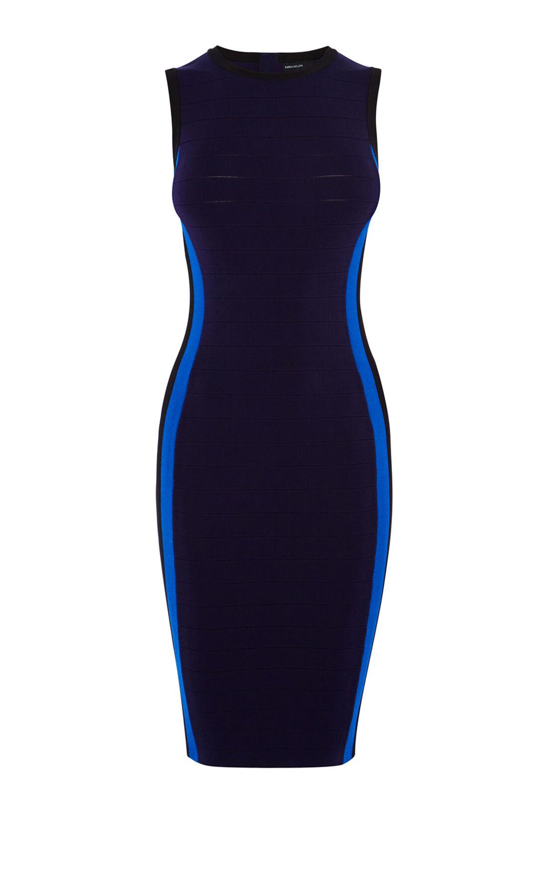 Karen Millen, BANDAGE DRESS Navy 0